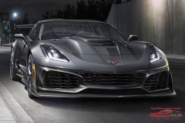 Chevrolet Corvette ZR1 2019 передня частина