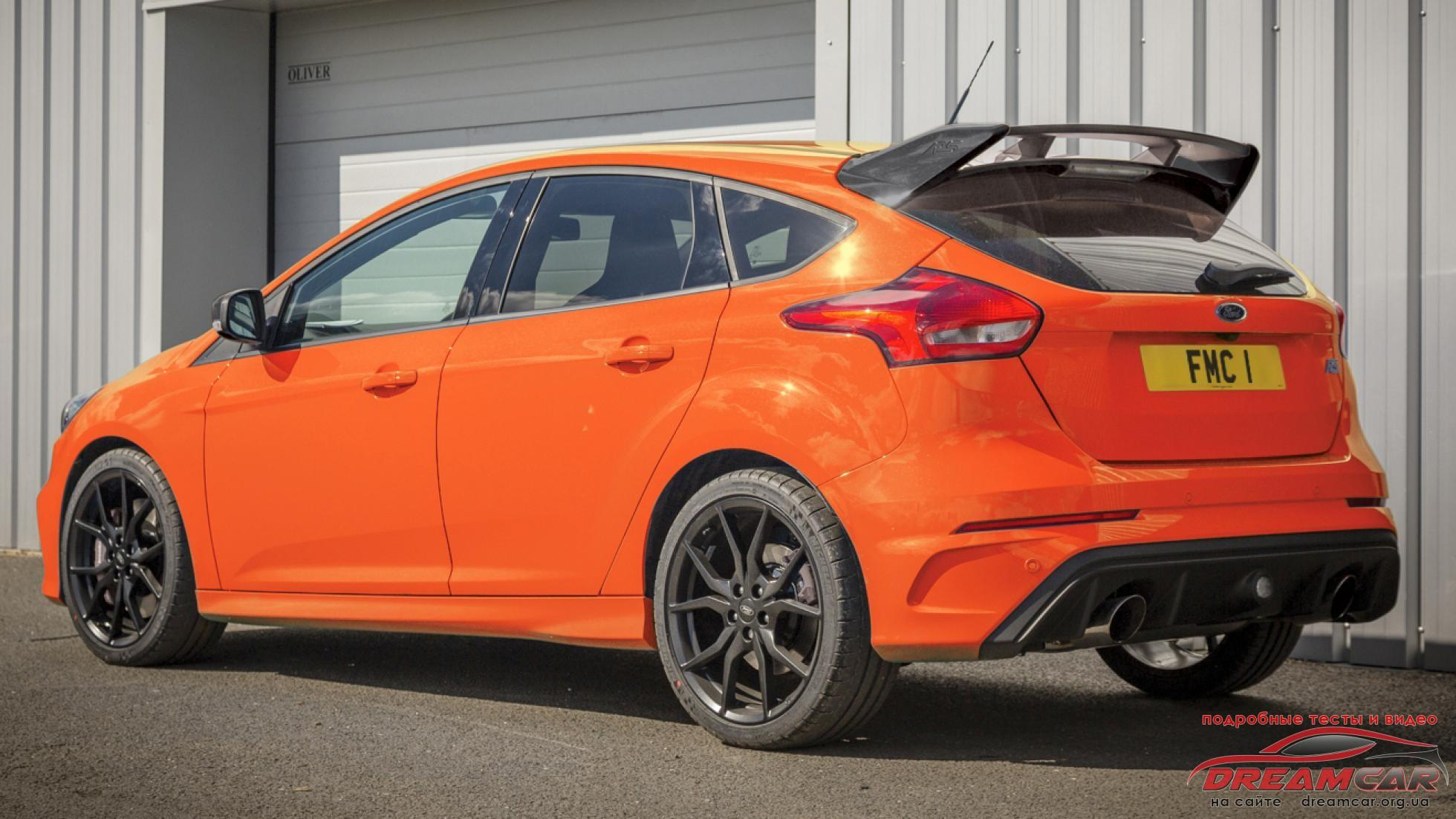 Ford Focus RS Heritage Edition 2