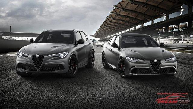 Alfa Giulia and Stelvio QV