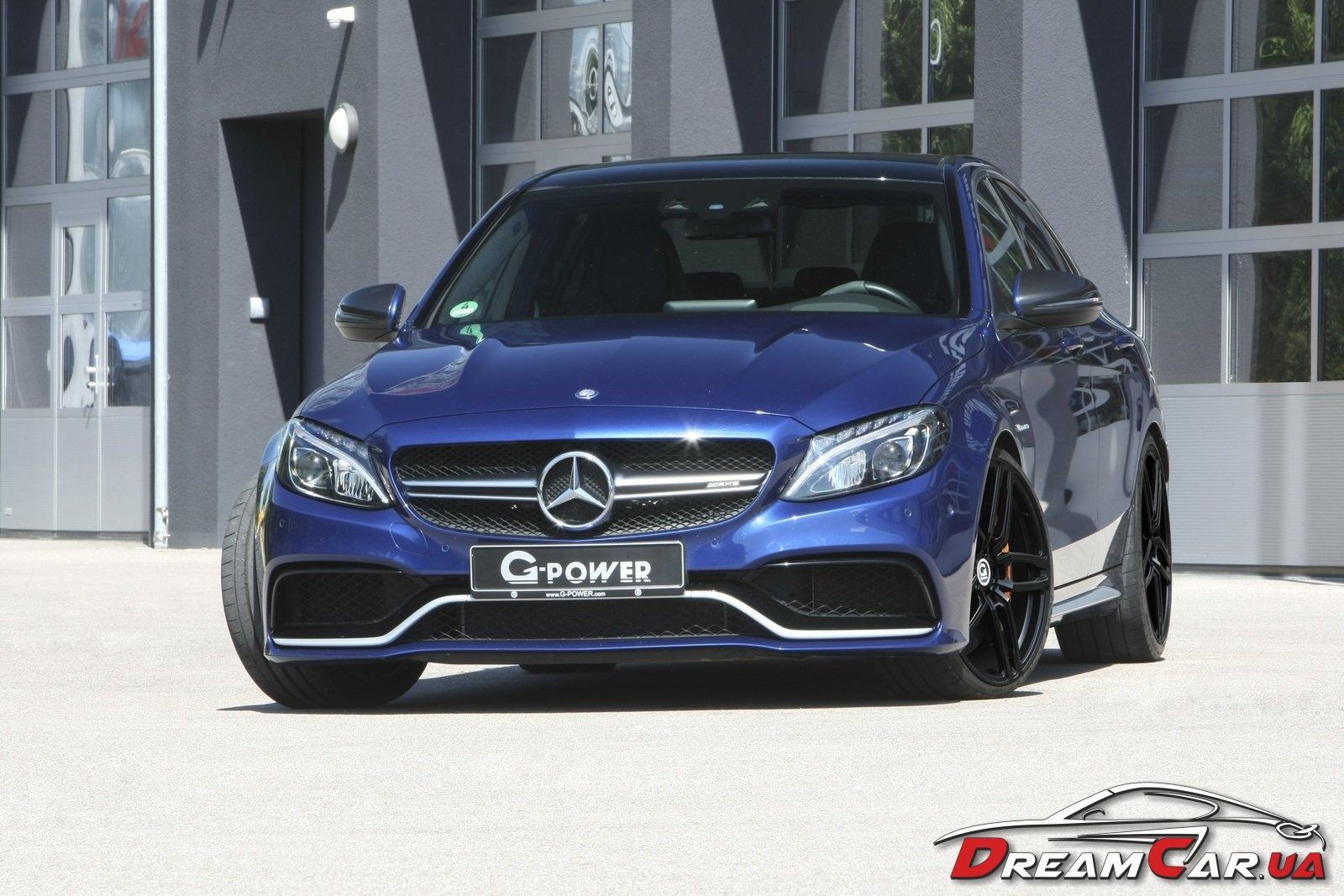 Mercedes C63 S G-power 3