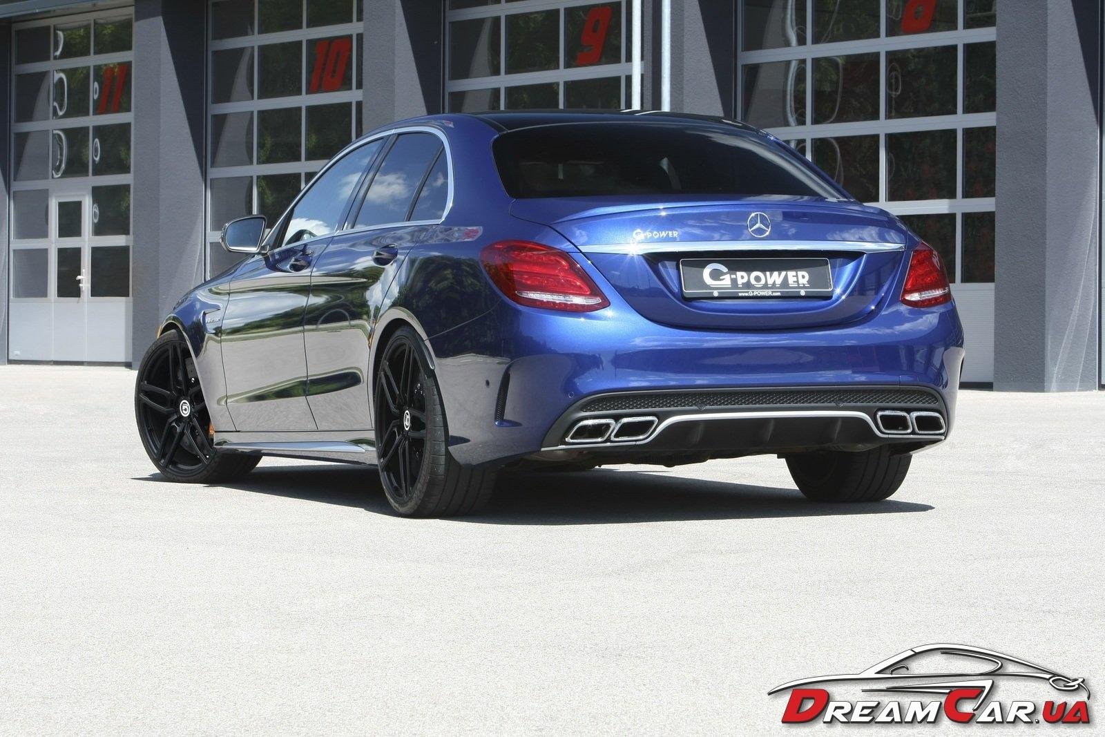 Mercedes C63 S G-power 4
