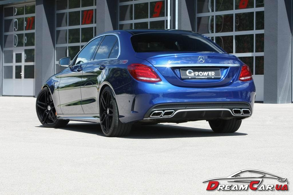 Mercedes C63 AMG G-power 2