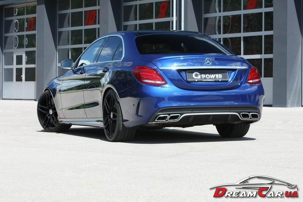 Mercedes C63 AMG G-power 2
