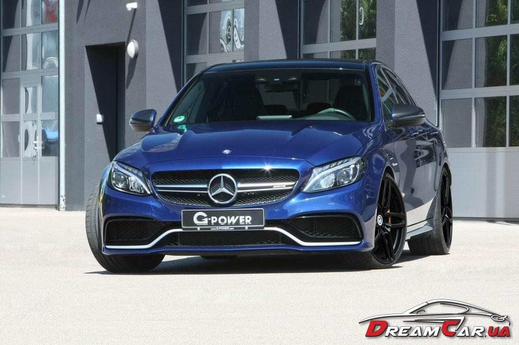 Mercedes C63 AMG G-power 3