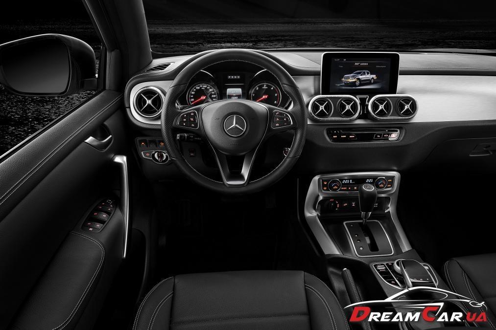 Mercedes X-class 4