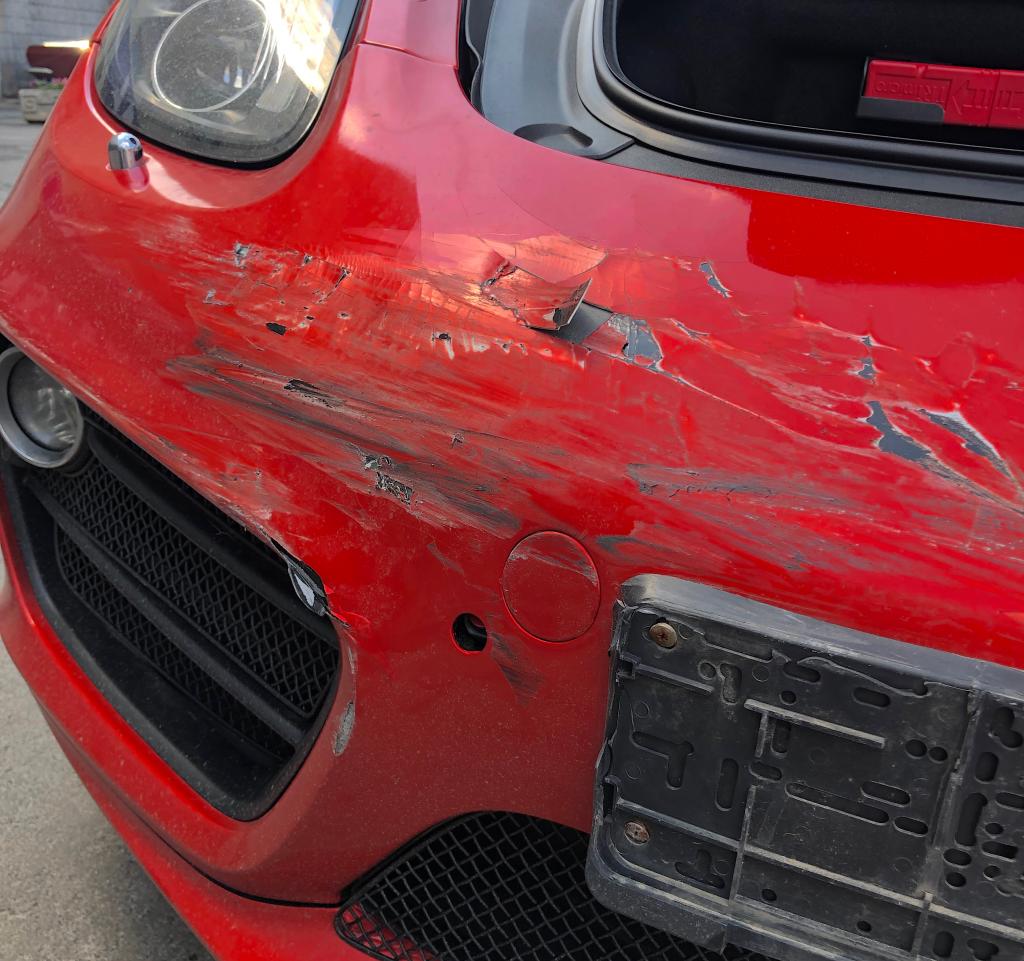 повреждения от аварии без страховки возмещение