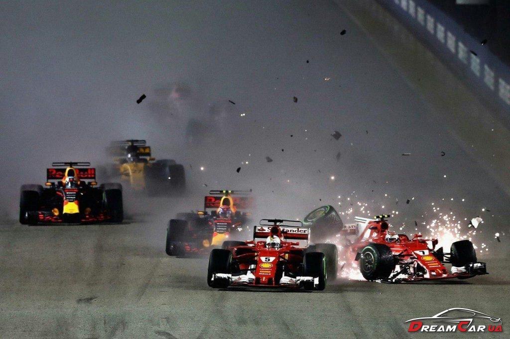 Авария F1