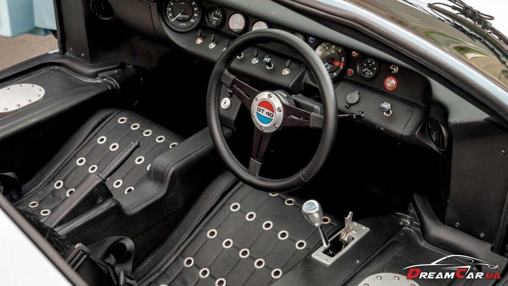 GT40 Gulf Blue