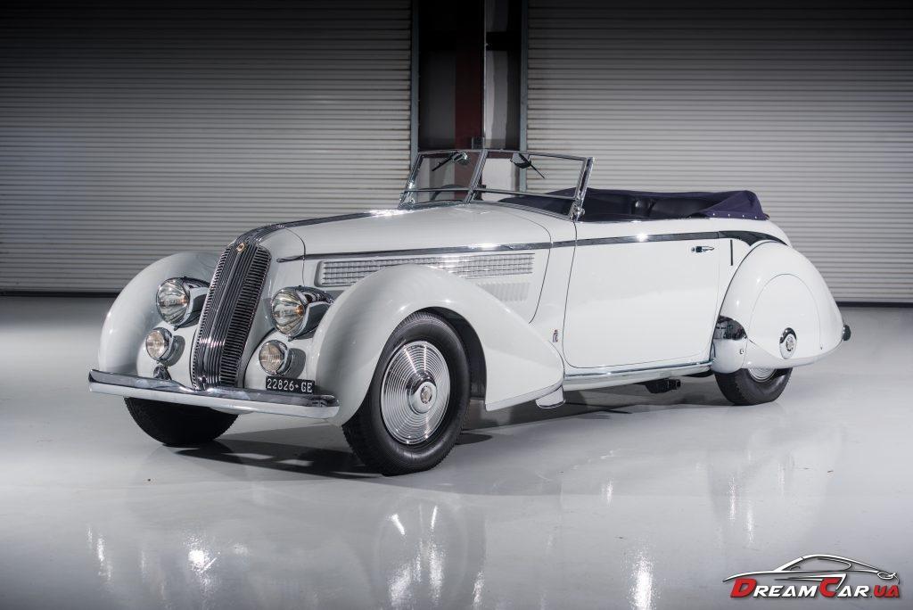 Lancia Astura Cabriolet Serie III «Tipo Bocca» Pinin Farina (1936)