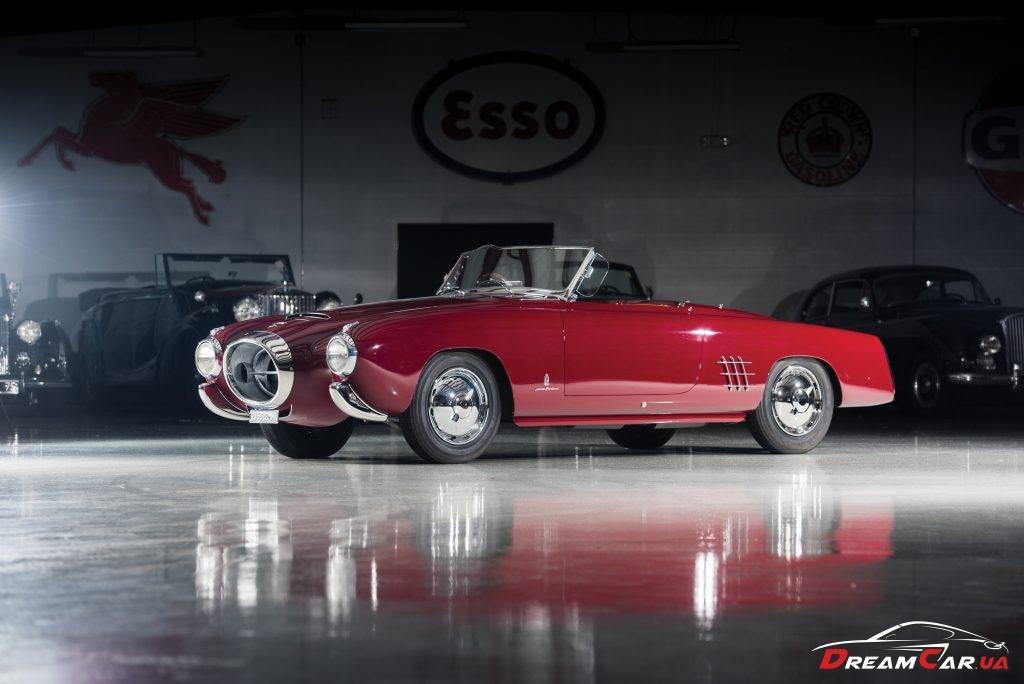 Lancia Aurelia PF200 C Spider (1953)