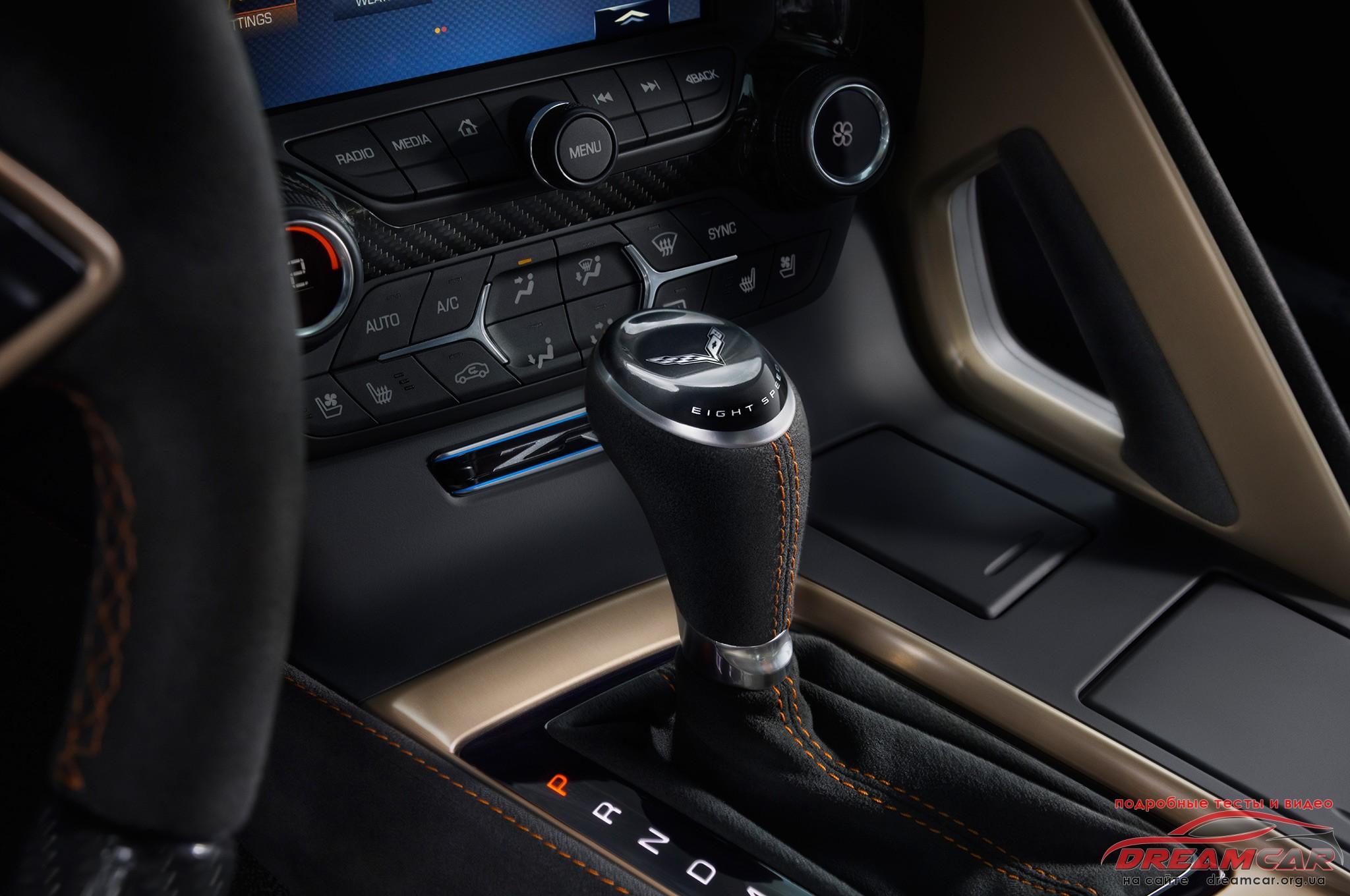 Chevrolet Corvette ZR1 2019 АКПП