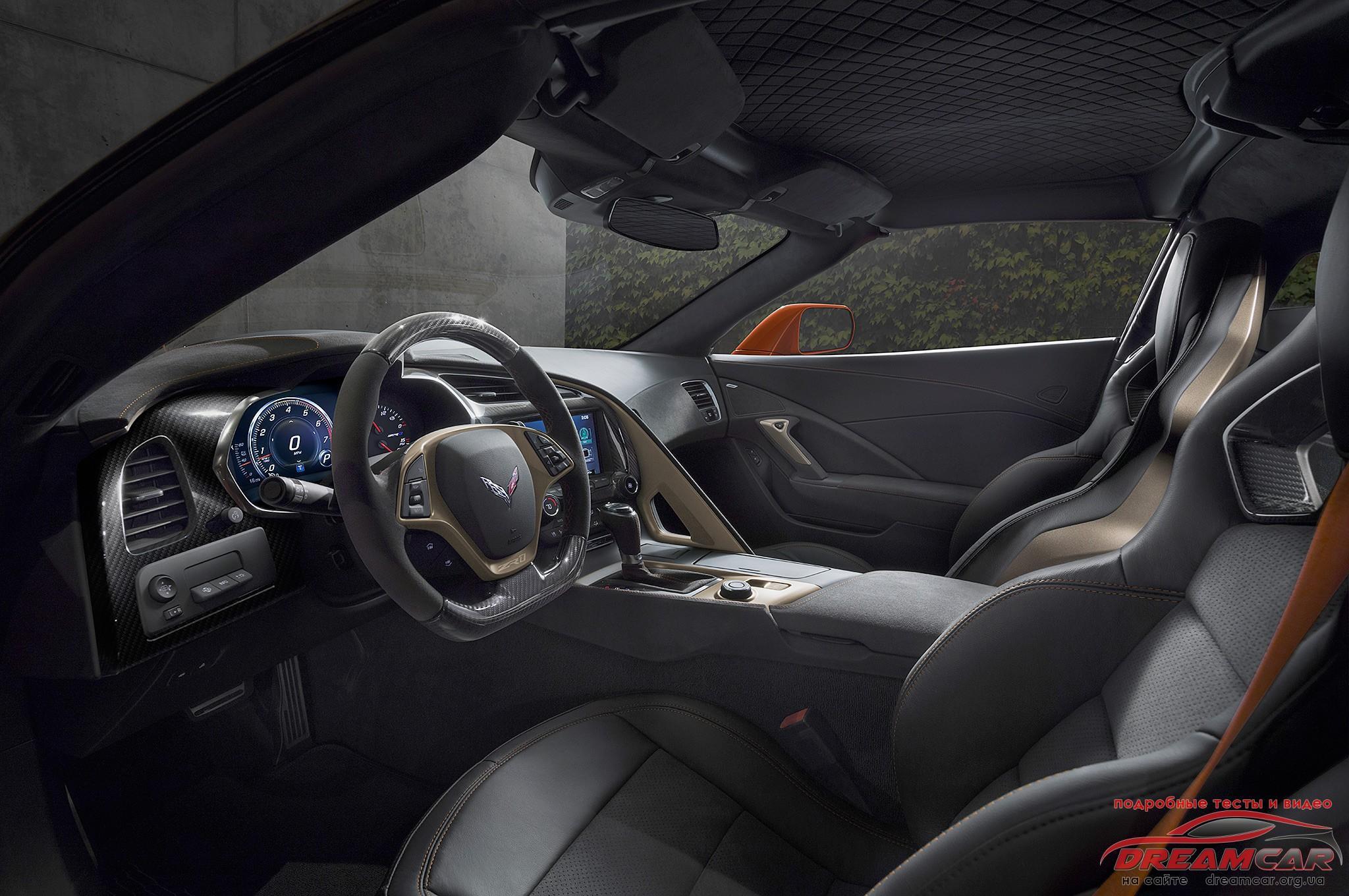 Chevrolet Corvette CZ1 2019 салон