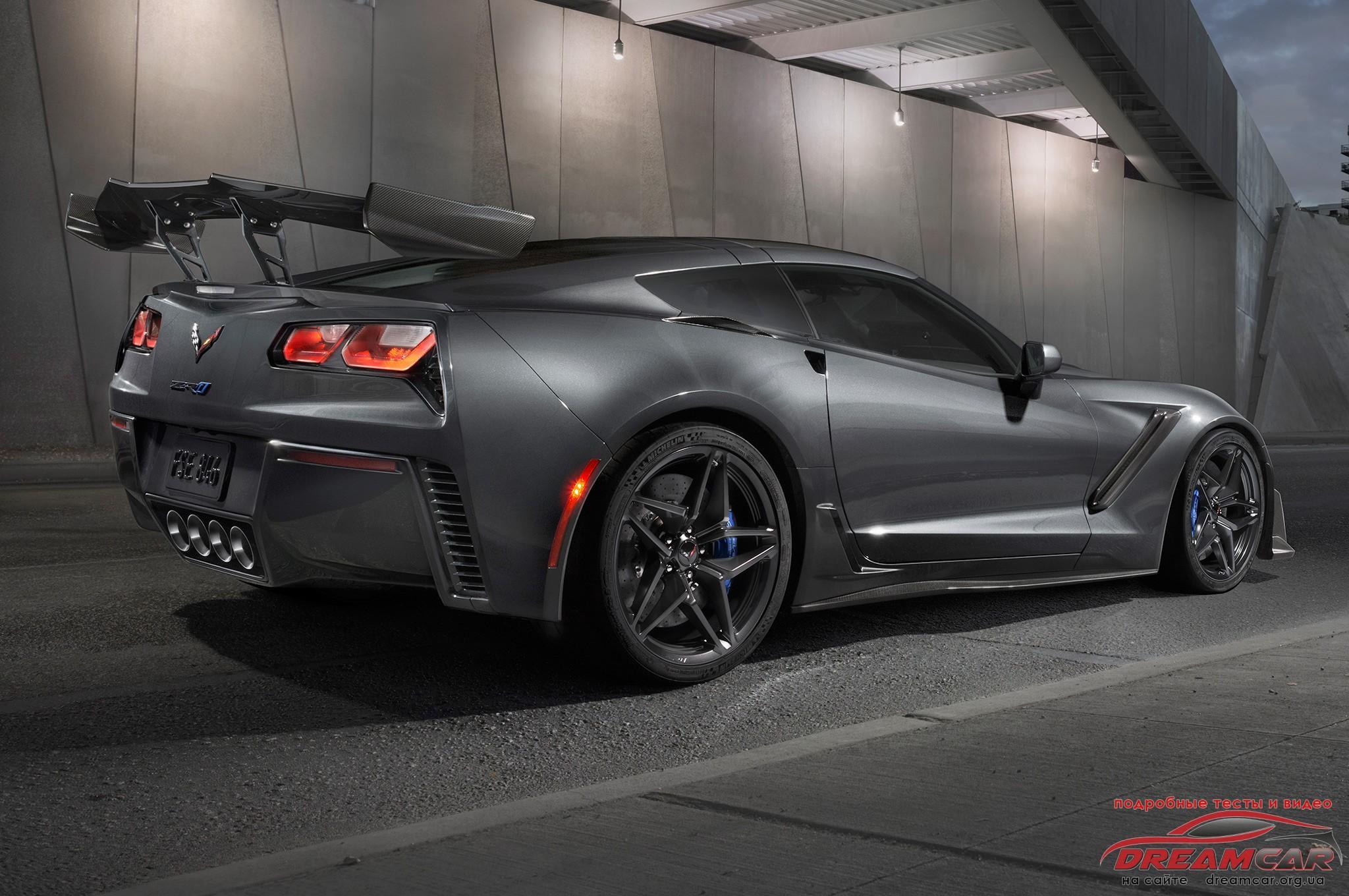 Chevrolet Corvette CZ1 2019 задняя часть