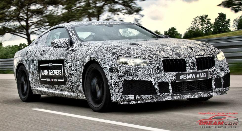 BMW-M8 миниатюра
