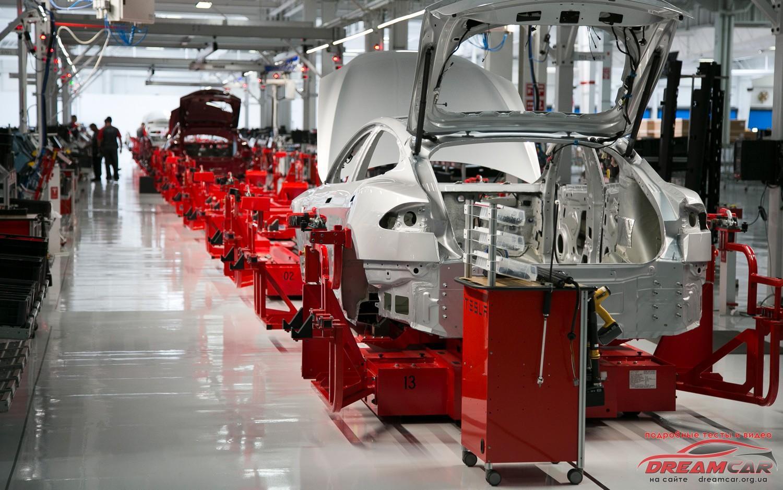 Tesla Model 3 завод