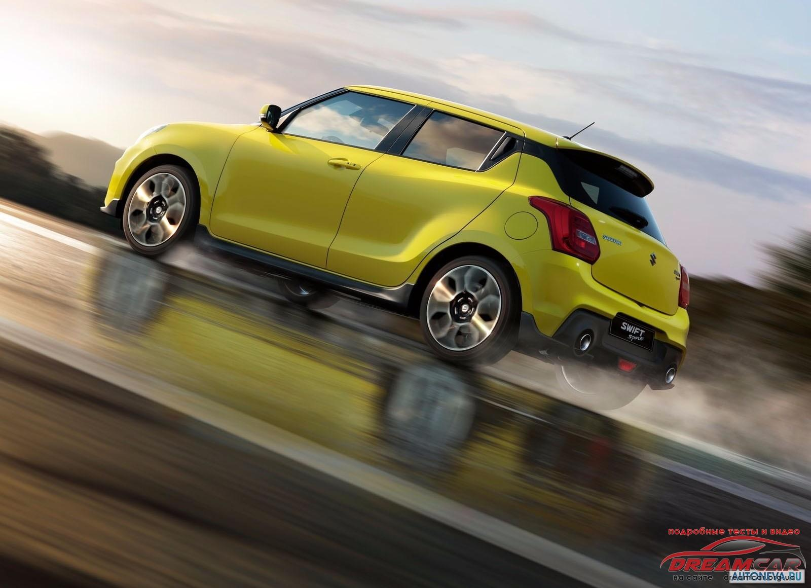 Suzuki Swift Sport-2018